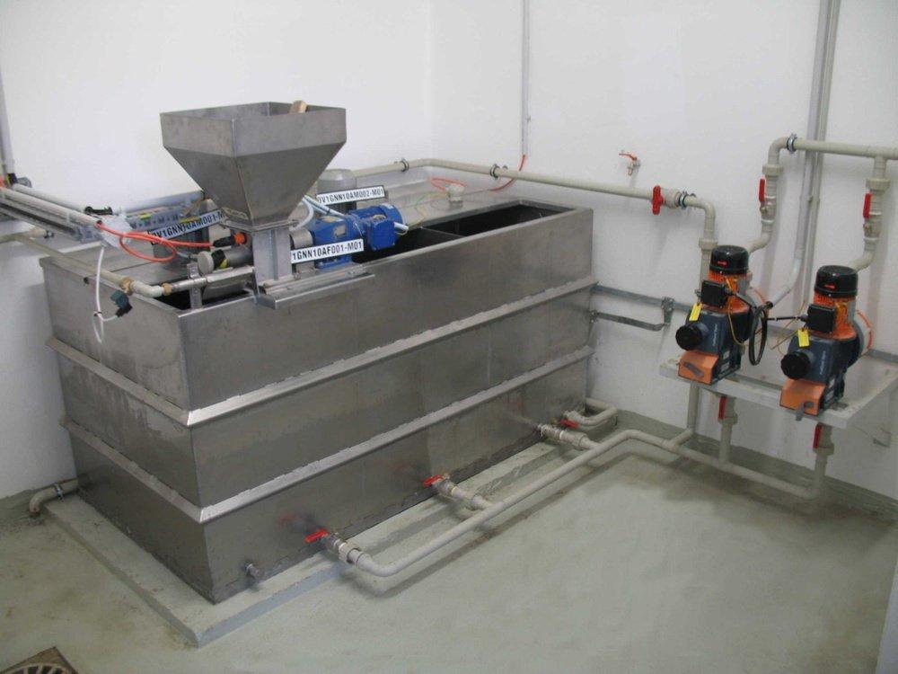 Станция подготовки флокулянта с дозатором<br />