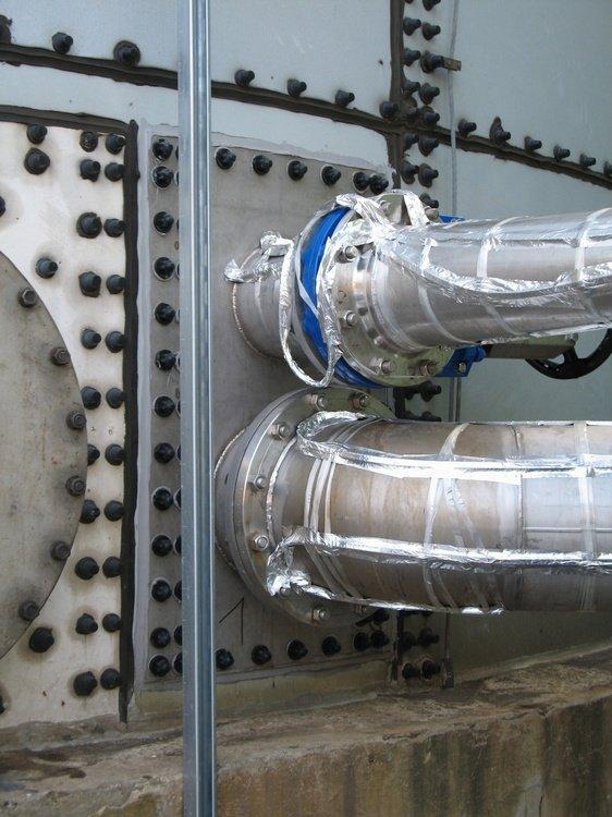 Решение новых входов в резервуары<br />«Сполхемие» Усти