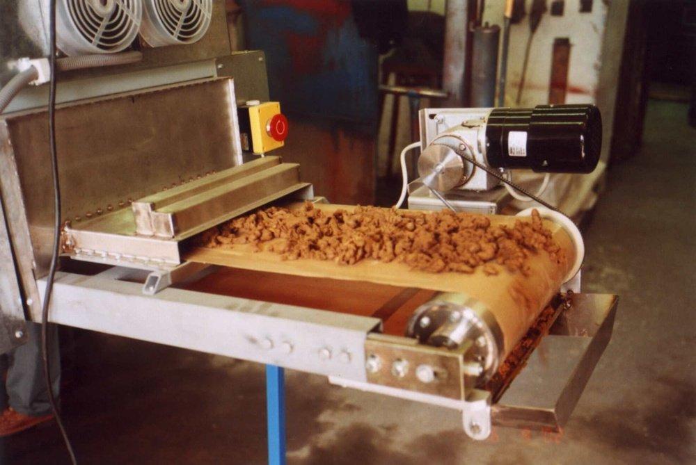 Досушенные гранулы кека до 97% сухого остатка<br />